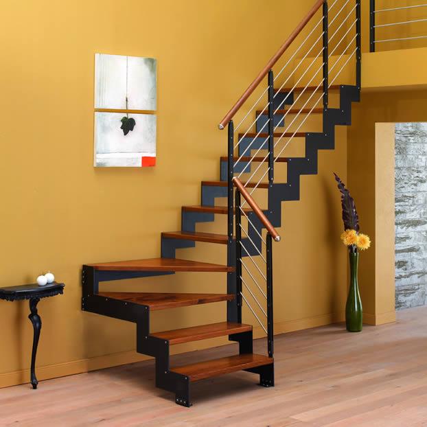 Escaleras de madera maderas y puertas g2 - Prezzi scale da interni ...