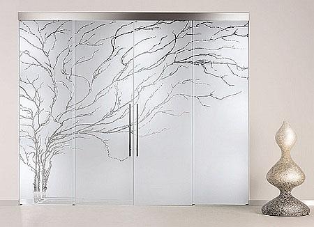 Puertas de interior cristal maderas y puertas g2 - Decoracion en cristal interiores ...