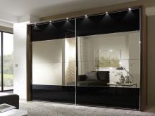 Serie 100 Mod. 4C HPL negro + espejo