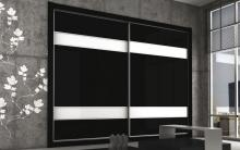 Serie 100 Mod. F2 HPL negro + HPL blanco