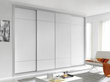 Serie 100 Mod. F3 melamina blanca