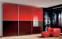 Serie 300 Mod. 2C cristal rojo + burdeos
