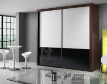 Serie 300 Mod. F14 cristal blanco + negro